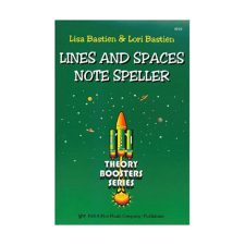 Kjos Lines And Space Note Speller (KP23)