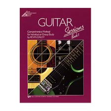 Kjos Guitar Sessions-Book 1 (Book & CD)