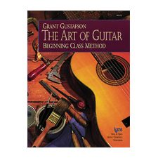 Kjos The Art of Guitar – Student Book