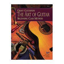 Kjos The Art of Guitar – Student Book