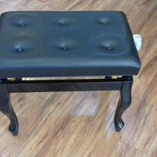 Piano Bench Curve (Black)