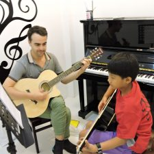 Guitar Lesson SoundsKool Cambodia