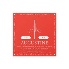 Aria Augustine Classic Red String Set Medium Tension
