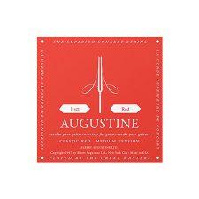Aria Augustine Classic Red String Set Medium Tension