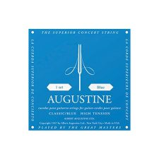 Aria Augustine Classic Blue String Set Hi Tension