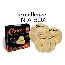 Bosphorus Cast Basic Cymbal Box Set 14 Hi-hats 16 Crash 20 Ride