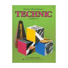 Bastien Piano Basics, Level 3, Technic