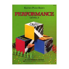 Bastien Piano Basics, Level 3, Performance