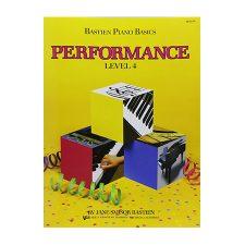 Bastien Piano Basics, Level 4, Performance