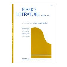 Piano Literature, Volume 2