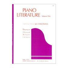 Piano Literature, Volume 1