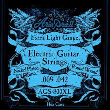 Aria E,Guitar String EX Light AGS-800XL