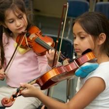 Chid violin