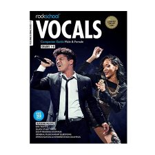 Rockschool Male Vocal GR 1 BK/AUDIO