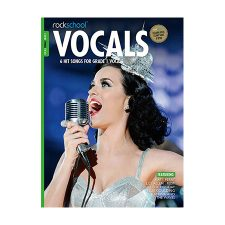 Rockschool Female Vocal GR 1 BK/AUDIO