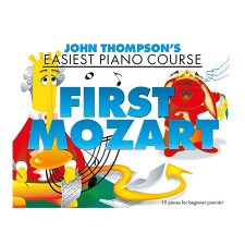 Thompson First Mozart Easy PF BK