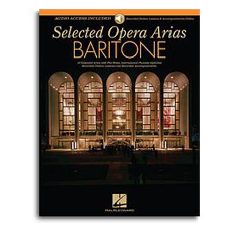 selected Opera Arias Baritone BK/ AUD