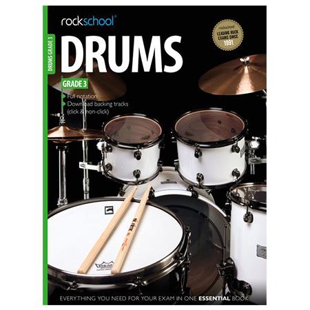 Rockschool DRUMS GR 3 2012-2018 BK