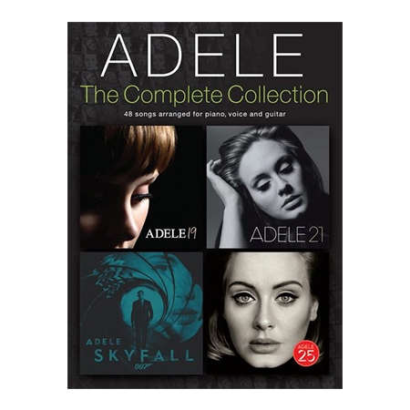 Adele Complete Collection PVG BK