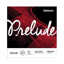Daddario j810 prelude 3/4 violin string set