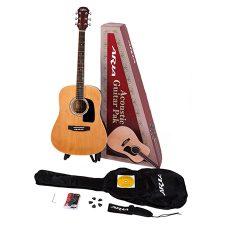 Aria AGPN-300 Acoustic Guitar Pakage W/ AWN-15