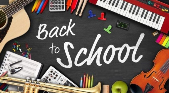 Back to School new 2018 term
