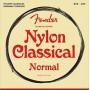 Fender 100 Nylon CLR SLVR End
