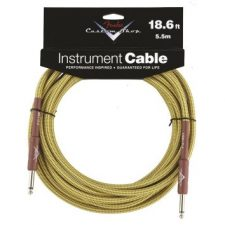 Fender 18.6 FT Straight Cables, Tweed