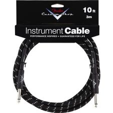 Cable Fender 3mt. Instrument, Black Tweed
