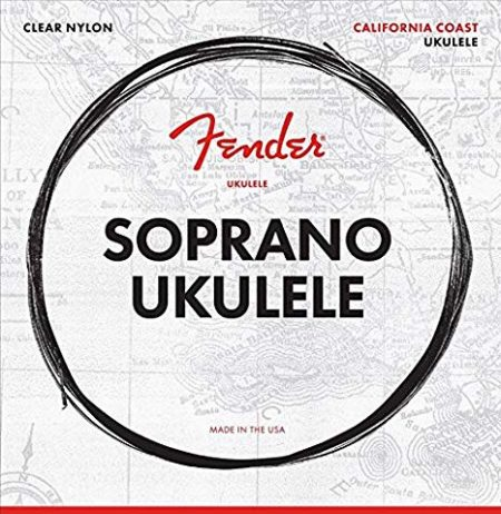 FENDER SOPRANO UKULELE STRINGS