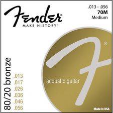 Fender 70M 80/20 Bronze Ball End 13-56