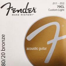 Fender 70CL 80/20 Phosphor Bronze 11-52