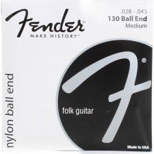 Fender 130 Clear Nylon Ball End Medium Classical Strings